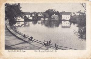 PITTSFIELD, New Hampshire, 1900-1910's; River Road