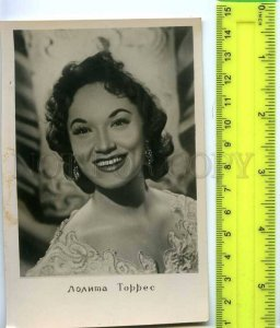 194160 Lolita TORRES Famous Argentina MOVIE Star Old PHOTO pc
