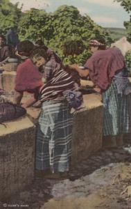 PATZICIA , Guatemala , 30-40s; Washing at Public Fountain