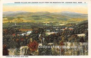 Shaker Village and Lebanon Valley Lebanon Trail, MA, USA Unused