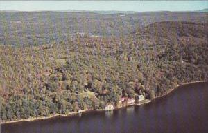 New Hampshire Spofford Camp Notre Dame Aerial View