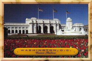 USA Postcard, Washington D.C, Union Train Railway Station GH3