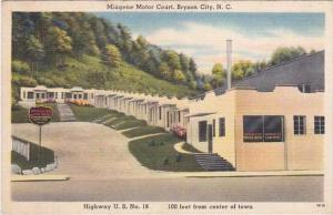 North Carolina Bryson City Miagene Motor Court