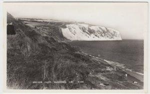 Isle Of Wight; Culver Cliff, Sandown D655 RP PPC By G Dean, Unused, c 1950's