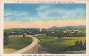 Tennesse Knoxville Chapman Highway Approaching Sevierville