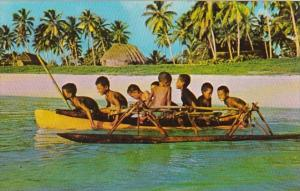 Fiji Suva Young Boys Canoeing