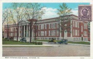 PITTSTON, Pennsylvania, 1920-30s; West Pittston High School