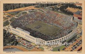 Macklin Field, Michigan State College East Lansing, Michigan, MI, USA Unused