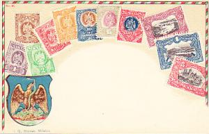 Stamps of Mexico - Embossed