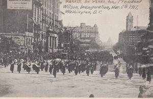 WASHINGTON, District of Columbia, 1917 ; Parade on PENN. Avenue #1