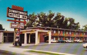 Downtowner Motor Inn Florence South Carolina 1961