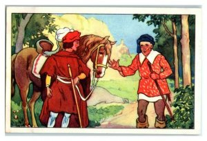 Prince asks for Golden Bird's Whereabouts, Echte Wagner German Trade Card *VT31T