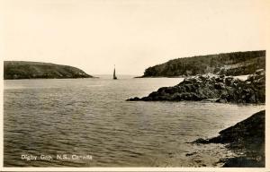 Canada - Nova Scotia, Digby Gap - RPPC