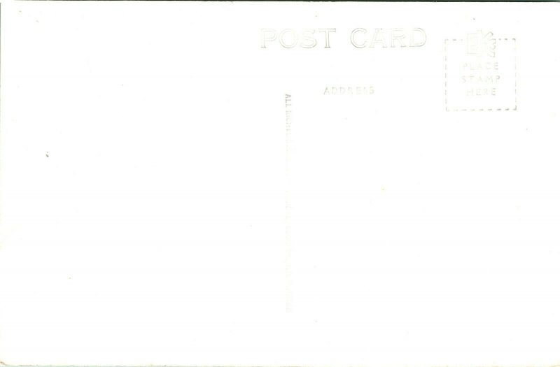Vtg Postcard RPPC - Gray Moss Inn Clearwater Florida - Hotel In Tropical Setting
