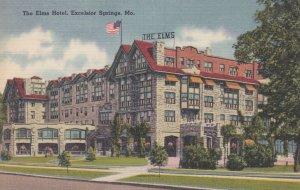 EXCELSIOR SPRINGS , Missouri , 30-40s ; The Elms Hotel