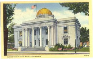 Linen of Washoe County Court House Reno Nevada NV