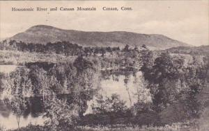 Housatonic River And Canaan Mountain Canaan Connecticut Albertype 1933