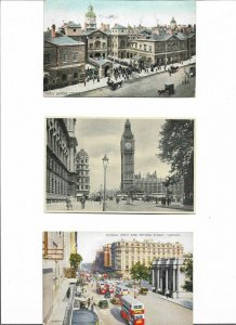 UK London - Horse Guards Big Ben Marble Arch And More Lot of 8 Postcards 01.08