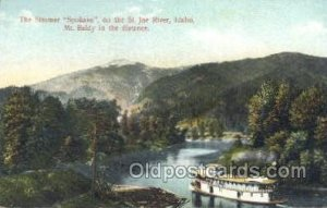 Spokane Ferry Boats, Ship Unused