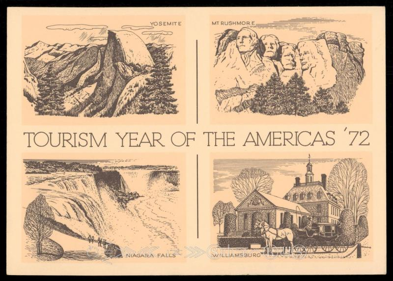 TOURISM YEAR OF THE AMERICA'S 72