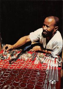 Bijoutier Maure a Dakar Moorish Jeweller