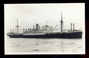 bf284 - Holland America Cargo Ship - Delftdyk , built 1929 - postcard Feilden
