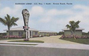 Florida Riviera Beach Barbizon Lodge