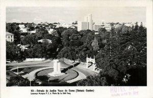 PC CPA MOZAMBIQUE, LOURENCO MARQUES, BOTANIC GARDEN, Vintage Postcard (b24900)