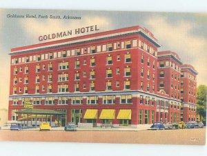 Linen HOTEL SCENE Fort Smith Arkansas AR AE1650