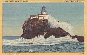 Tillamonk Lighthouse , Oregon, 30-40s