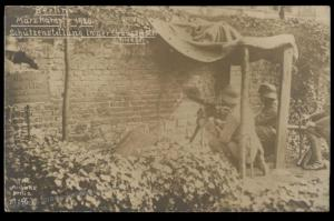 Germany 1918 Kapp Putsch Revolution Freikorps Berlin Cemetery RPPC Michael 87936