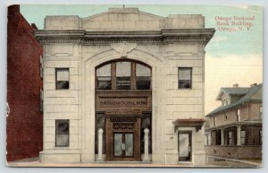 Owego New York~National Bank Building~FW Clifford Law Offices~Big Home~1908 PC