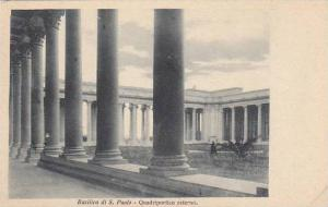 Basilica di Sao Paolo, Quadriportico esterno, Brazil, 10-20s