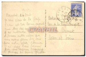 Old Postcard The Cote d & # 39Azur Bandol Port Boat