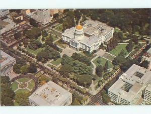 Unused Pre-1980 AERIAL VIEW OF TOWN Sacramento California CA n2787