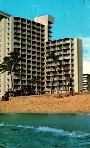 Hawaii Waikiki Beach The Park Shore Hotel 1973