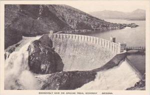 Arizona Apache Trail Roosevelt Dam On Apache Trail Highway Albertype