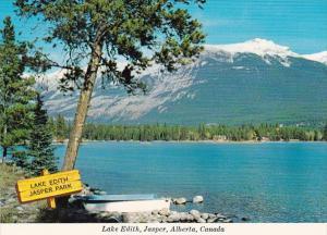 Canada Jasper View Of Lake Edith