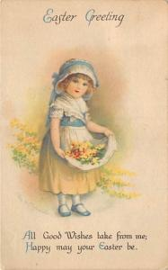 Ellen H Clapsaddle, Easter Greetings Holiday 1923