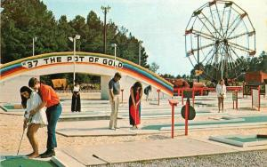 Amusement Miniature Golf 1960s South of Border Robinson's South Carolina 5836