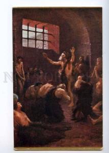 235949 Jan STYKA Jail in Amphitheatre Vintage Lapina postcard