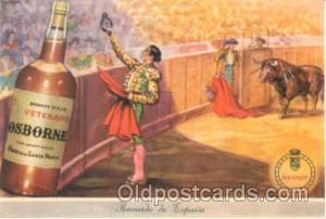 Bull Fighting Advertising Postcard Post Card  Bull Fighting