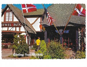 Greetings from Solvang California Jewel Box Shop 4 by 6