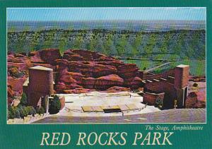 Colorado Red Rocks Park The Stage Amphitheatre