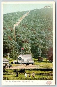 Beacon NY~Detroit Publishing #7597~Family in Field~Incline Railway Mount~c1905