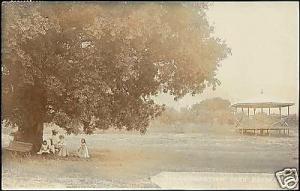 south africa, BARBERTON, Coronation Park (1908) RPPC