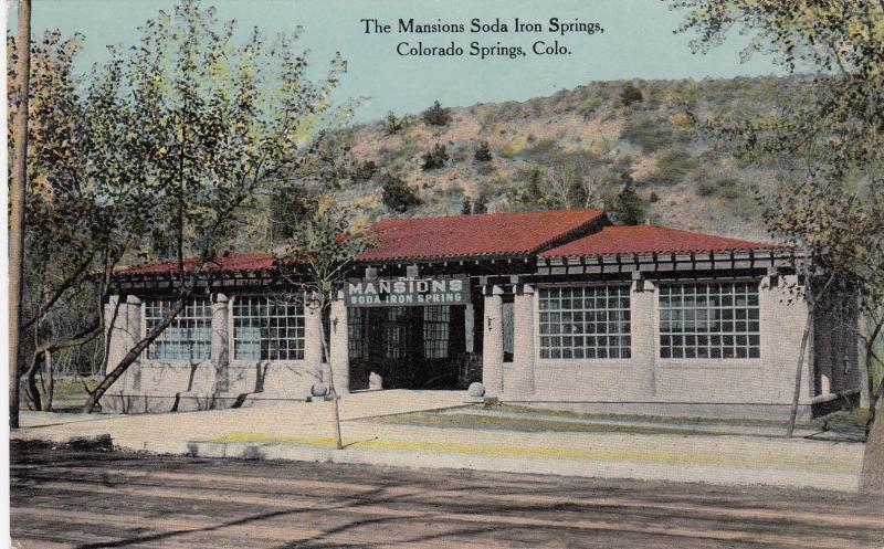 The Mansions Soda Iron Springs , COLORADO SPRINGS , Colorado , PU-1911