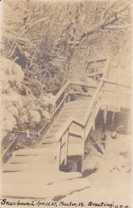 RP: PROCTER , Vermont ,  PU-1907 ; Snow Bound