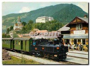 Postcard Modern Murtalbahn bei Murau Obersteigermark