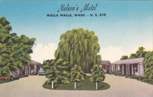 Washington Walla Walla Nelson's Motel